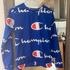 Champion Tops - Champion Crop Long Sleeve Top